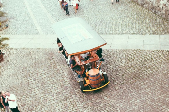 Beer Bike in Prague