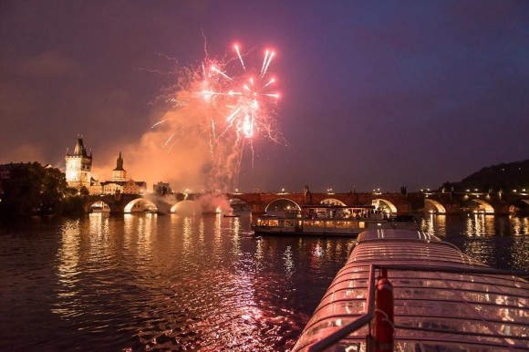 Prague Boats - New Year's Eve with Jazz