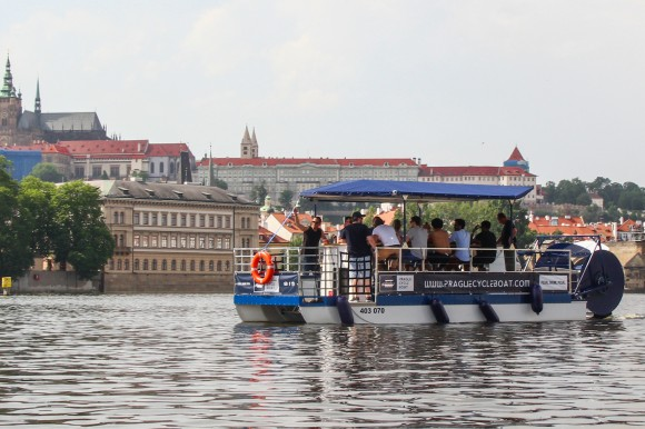 Prague Cycle Boat
