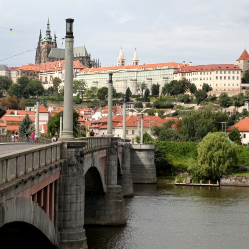 Walk Free Tour - A walking tour of prague 15 historical landmarks