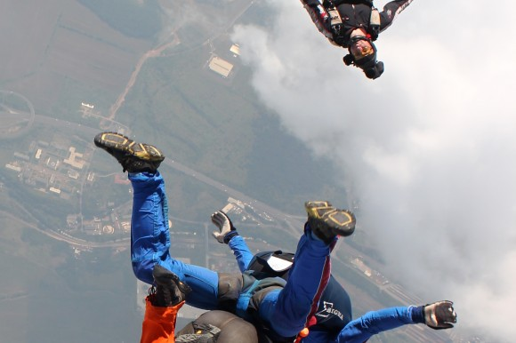 Skydiving in Prague