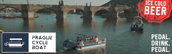 Prague Cycle Boat: Brand new and the only one in Europe. Unlimited ice-cold beer on tap.